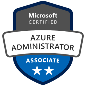 Badge Microsoft Certified Azure Administrator Associate